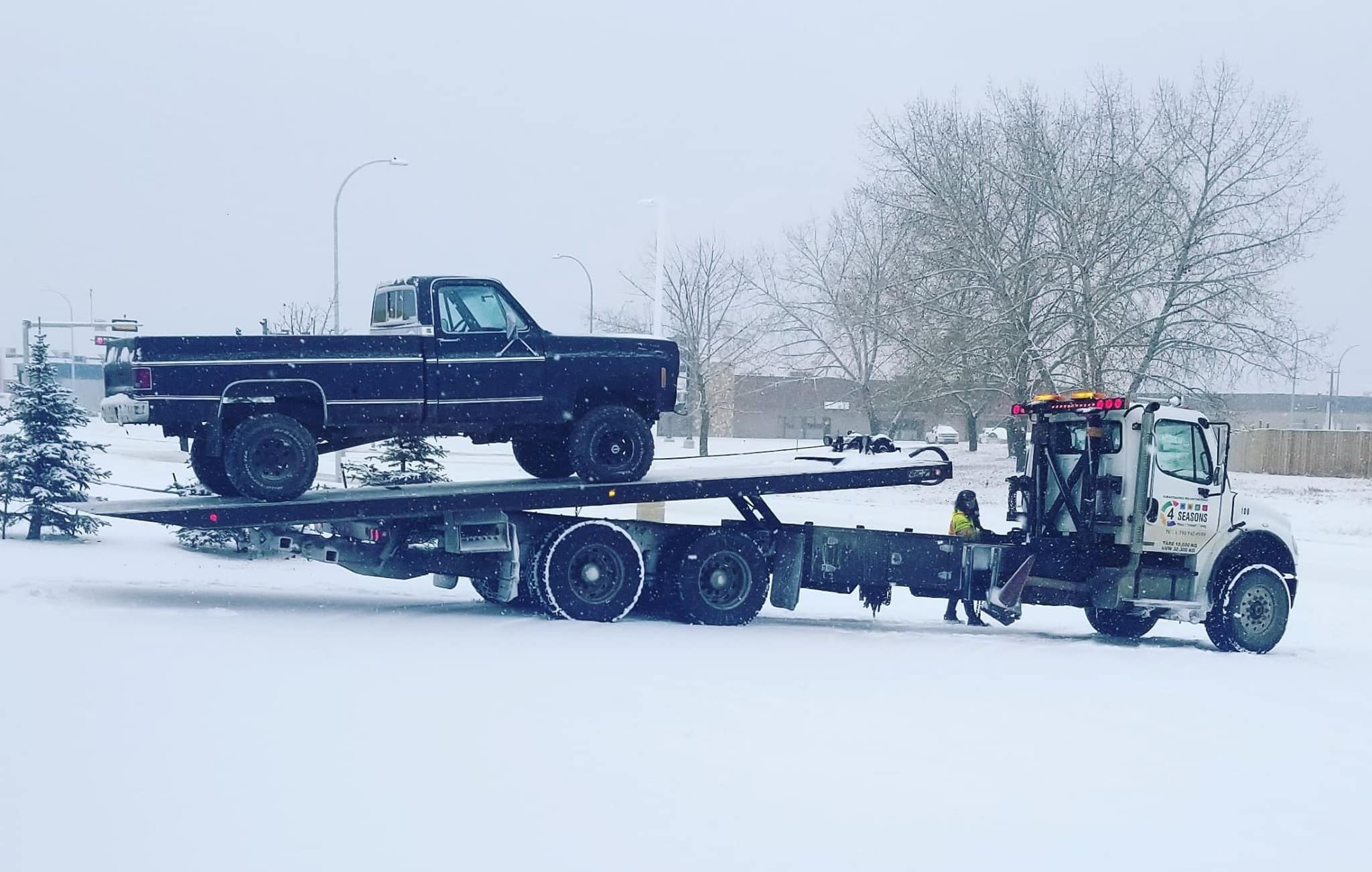 Tow Truck - 4 Seasons Transport & Towing