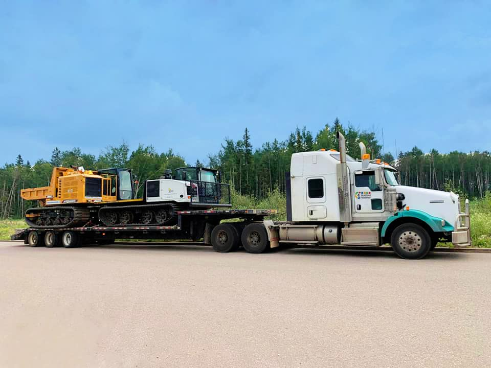Transporting & Hauling Equipment - 4 Seasons Transport & Towing