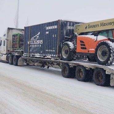 Haul heavy equipment - 4 Seasons Transport & Towing