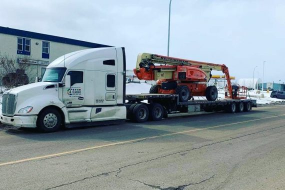 Heavy Equipment - 4 Seasons Transport & Towing