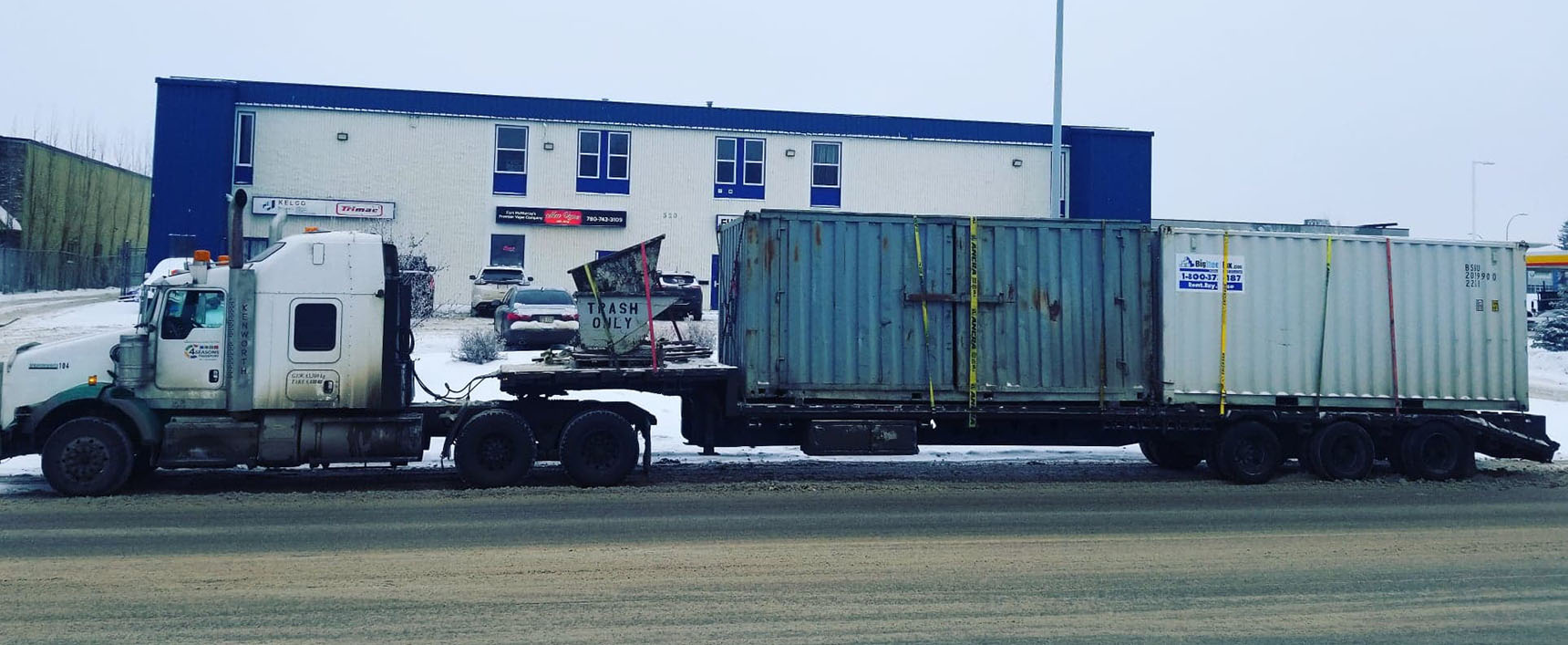 Transport Container Alberta - 4 Seasons Transport & Towing