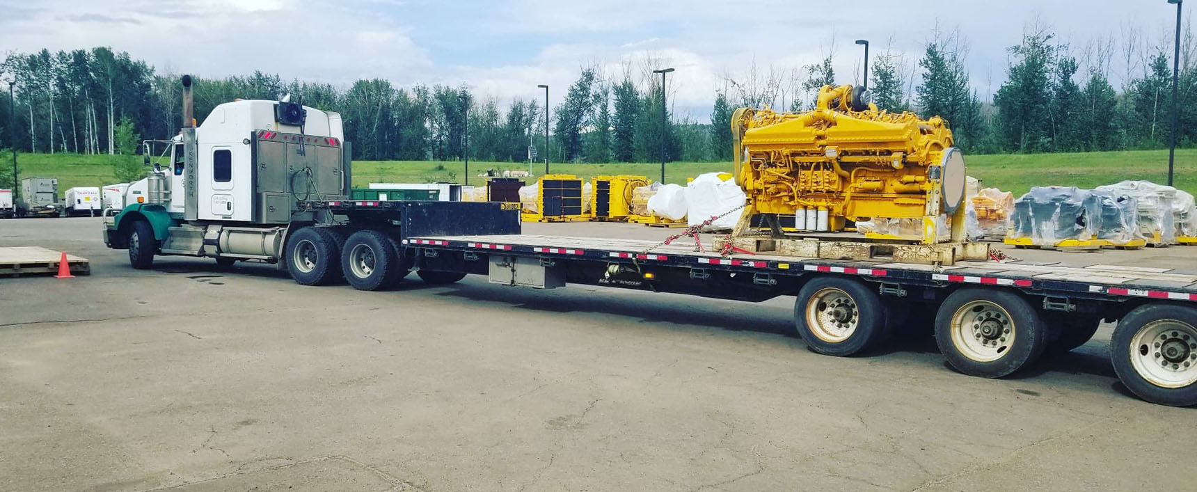 Transport Equipment Fort Mac - 4 Seasons Transport & Towing