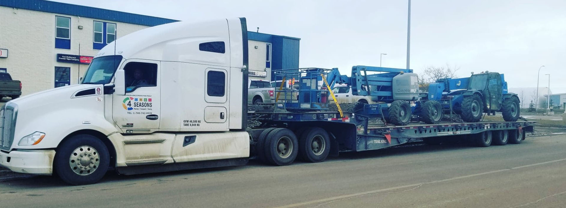 Transport Equipments Alberta - 4 Seasons Transport & Towing