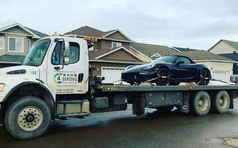 Tow Truck Near Me - 4 Seasons Transport & Towing